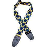 Play with Pride University of Michigan Guitar Strap