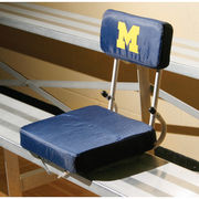 Logo University of Michigan Hard Back Stadium Seat Cushion