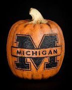 Michigan Wolverines Pumpkin