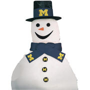 Topperscot University of Michigan Snow Fan Team Snowman Kit