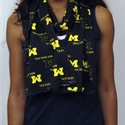 College Concepts University of Michigan Ladies Keynote Essential Scarf