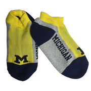 For Bare Feet University of Michigan Marathon Socks