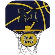 Rawlings University of Michigan Basketball Softee Hoop & Net Set