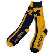 FBF University of Michigan Big Top Mismatch Socks
