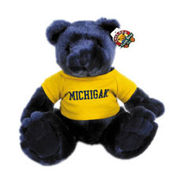 Chelsea Teddy Bear Co. University of Michigan Navy Knuckles 10 Bear
