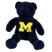 Forever Collectibles University of Michigan Navy Plush 8 Teddy Bear