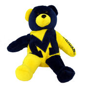 Thematic Plush University of Michigan Teddy Bear 8