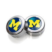 Stockdale University of Michigan License Plate Screw Covers