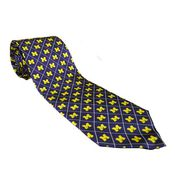 Varsity Vest University of Michigan Two Tone Diamond Tie