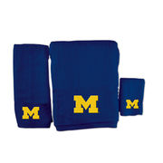 McArthur University of Michigan 3-Piece Navy Bath Towel Set