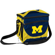 Logo University of Michigan 24 Can Cooler