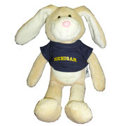Chelsea Teddy Bear Co. University of Michigan Stuffed Bunny Rabbit