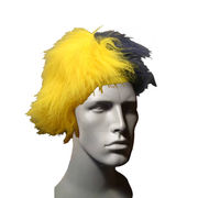 University of Michigan Maize and Blue Wig
