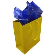 Jillson Roberts University of Michigan Medium Yellow Tote Gift Bag