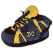 Comfy Feet University of Michigan Baby Slippers