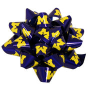 Spirit Products University of Michigan Large Individual Gift Wrap Bow