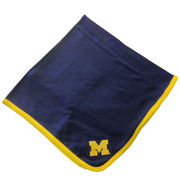 Two Feet Ahead University of Michigan Navy Baby Blanket