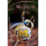 Glory Haus University of Michigan Christmas Ornament