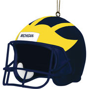 Memory Company University of Michigan Football 3'' Helmet Ornament