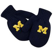 LogoFit University of Michigan Youth/ Junior Navy Eskimo Mittens