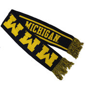 LogoFit University of Michigan Reversible Scarf