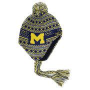 Honour Society University of Michigan Tassel Knit Hat