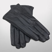 Canyon Outback University of Michigan Ladies Black Leather Gloves