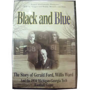Michigan Wolverines DVD Black & Blue: The Story of Gerald Ford, Willis Ward