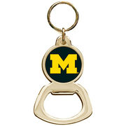 Jardine University of Michigan Metal Bottle Opener Key Chain