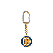 Key Chain Spinner Michigan Block M