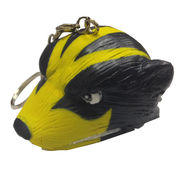 FoamHeads University of Michigan Foam Wolverine 4 in 1 Topper Keychain