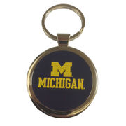 Spirit Products University of Michigan Circle M/ Michigan Keychain