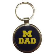 Spirit Products University of Michigan Dad Keychain