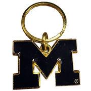 MCM University of Michigan Block M Key Chain