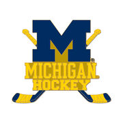 WinCraft University of Michigan Hockey Stacked Sticks Lapel Pin