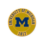 WinCraft University of Michigan Round 1817 Lapel Pin