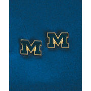 WinCraft University of Michigan Block M Post Earrings