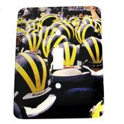 MCM University of Michigan Sea of Helmets Light Switch Plate