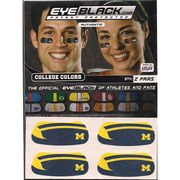 University of Michigan Winged Helmet/ Block M Eye Black