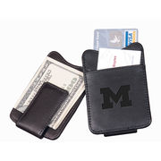 Black Magnetic Michigan Money Clip