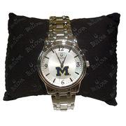 Bulova University of Michigan Men's Dial Bracelet Watch