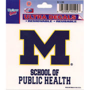 Wincraft University of Michigan School of Public Health Decal- 3 x 3.75
