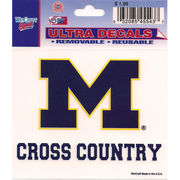 Wincraft Michigan Wolverines Cross Country Decal- 3 x 3.75
