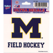 Wincraft Michigan Wolverines Field Hockey Decal- 3 x 3.75
