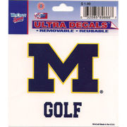 Wincraft Michigan Wolverines Golf Decal- 3 x 3.75