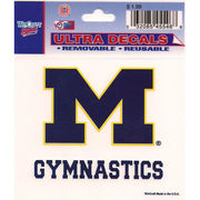 Wincraft Michigan Wolverines Gymnastics Decal - 3 x 3.75