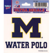 Wincraft Michigan Wolverines Water Polo Decal- 3 x 3.75