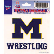 Wincraft Michigan Wolverines Wrestling Decal- 3 x 3.75