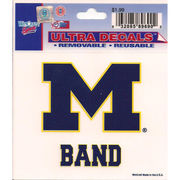 Wincraft Michigan Wolverines Marching Band Decal- 3 x 3.75