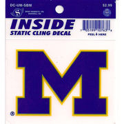Spirit Product University of Michigan Block M Window Decal
